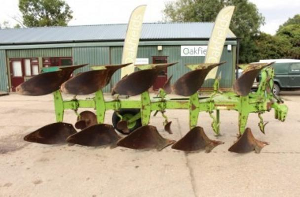Other 1996 DOWDESWELL DP7D2 5 FURROW PLOUGH