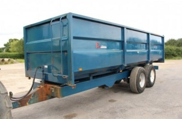 Other 1990 A.S. MARSTON 14 TON ACE GRAIN TRAILER