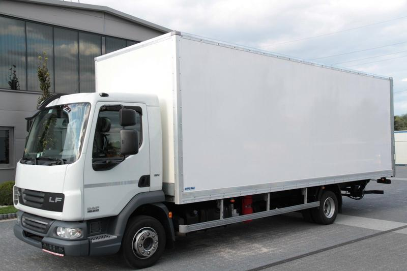 Daf LF 45.210 EEV KOFFER CONTAINER BOX TAIL LIFT