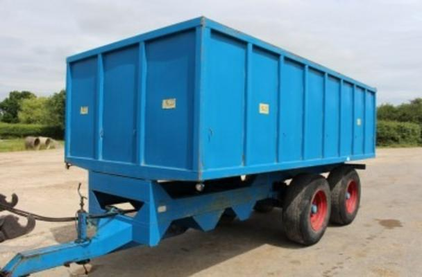 Other 1988 R&R 10 TON TANDEM AXLE GRAIN TRAILER
