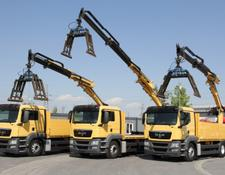 MAN TGS 26.400 6x2 EEV CRANE ATLAS 210.2 3 UNITS!