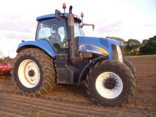 New Holland Used  T8040 50K Tractor
