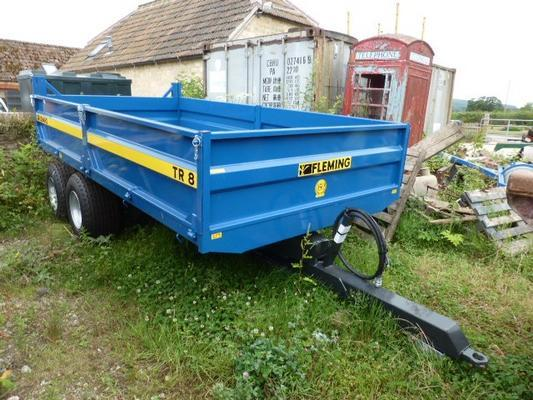 Other FLEMING TR8 TIPPING TRAILER