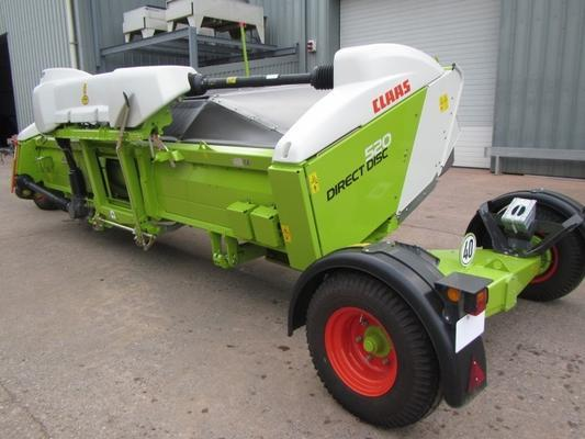 Claas Claas 520 Direct Disc whole crop header