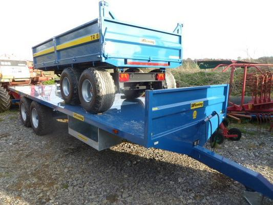 Other FLEMING TRF 25 BALE TRAILER