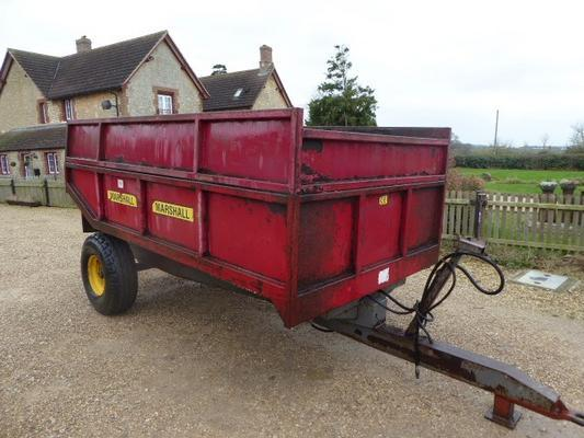 Other MARSHALL 6 TON DUMP TRAILER
