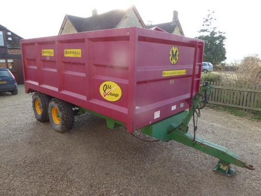 Other MARSHALL QM8 TON TRAILER