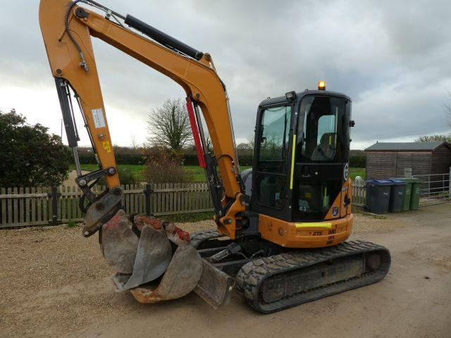Case CX50B TRACKED DIGGER 2016