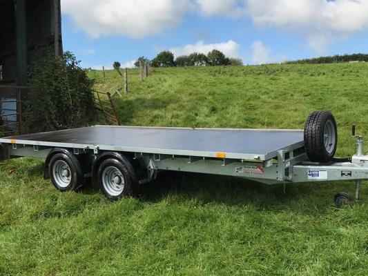 Ifor Williams Ifor Williams 126 trailer 12ft x 6.6ft