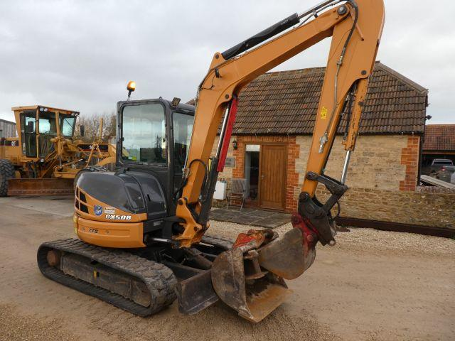 Case CX50B TRACKED DIGGER YEAR 2013
