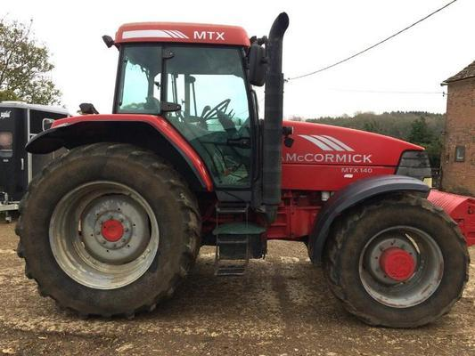 McCormick 2003  MTX140 4WD TRACTOR ***NOW SOLD***