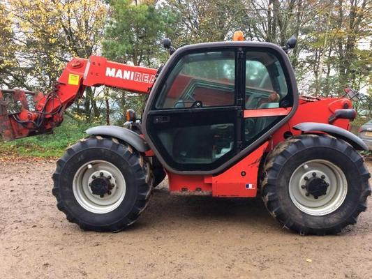 Manitou 2004  MLT 731 TELEHANDLER, JOYSTICK CONTROL, HITCH, APPROX. 6000 HRS. 3 TON LIFT TO 7M