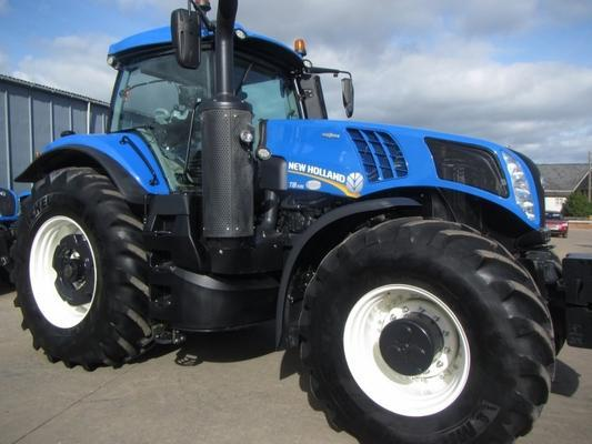 New Holland T8.435, 2016, 538 hrs