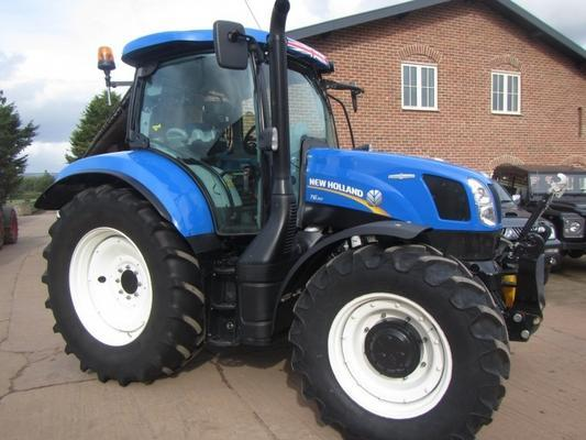 New Holland T6.150, 05/2016, 1,209 hrs
