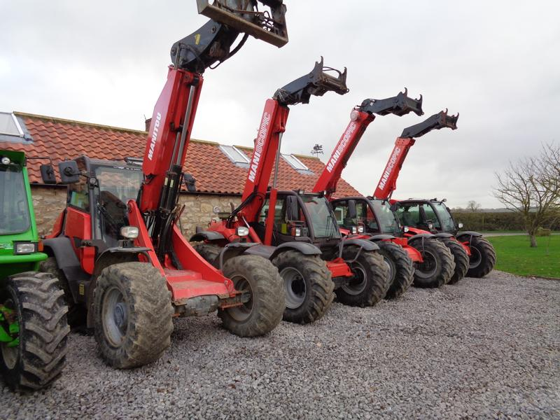 Manitou Telehandlers For Sale