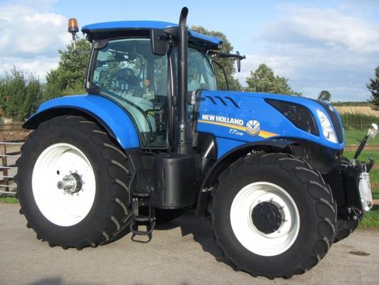 New Holland T7.245, 05/2016, 1,192 hrs