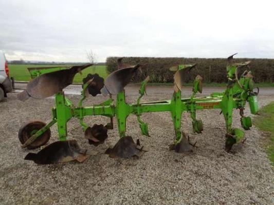 Dowdeswell Used  Dp8B 4 Furrow Reversible Plough