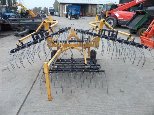 SHELBOURNE PARMITER 4.5 METRE GRASS HARROWS