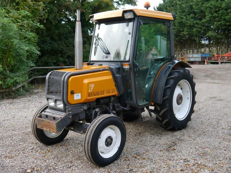 Renault 55.12 2wd Orchard Tractor