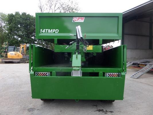 NEW JPM 14 TONNE MULTI PURPOSE DUMP TRAILER