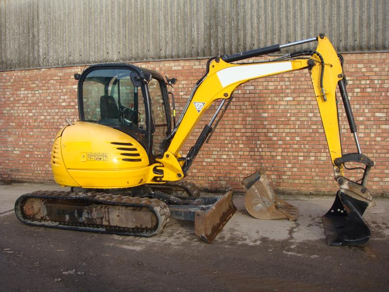 JCB 8045ZTS TRACKED DIGGER