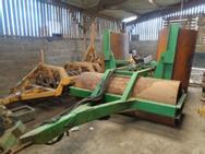 Used 5.2 Meter Folding Flat Rollers