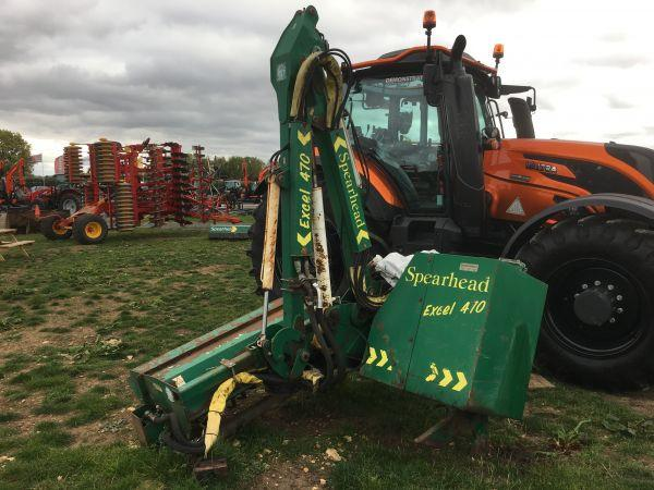 Spearhead Excel 470 Hedgecutter - £4,000 +vat