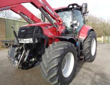 Case IH Puma 220 with LRZ160 Loader