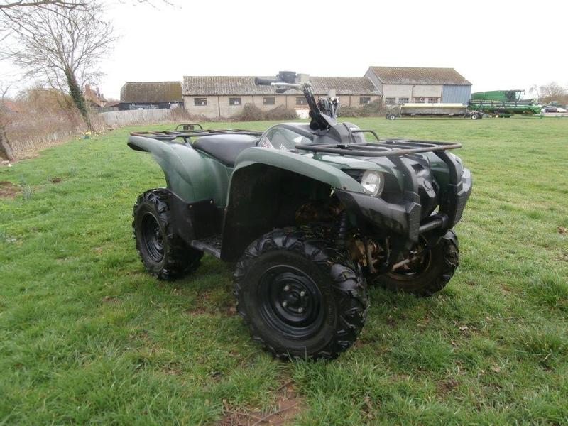 Yamaha 550 Grizzly Quad