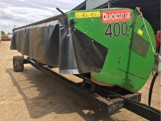Lely 2014 QUICKCUT GB400 , 4M WHOLE CROP HEADER C/W  10 DISC BED. IN VERY GOOD CONDITION