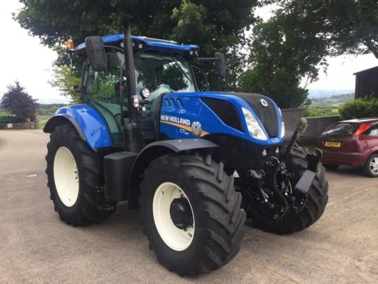 New Holland T7.190 Range Command, 50 kph & F/Links