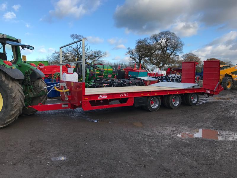 JPM 27 Tonne 25ft Tri Axle Low Loader