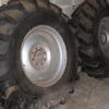 Danubiana 18.4-26 tractor wheels and tyres. 8 stud centres.