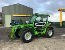 Merlo TFII 42.7 CVT cab suspension