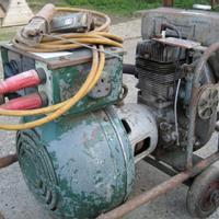Used Engine driven portable welder JLO 2 stroke petrol  Other for