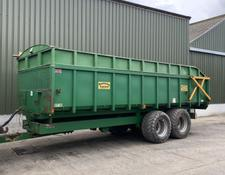 Easterby 14ton Trailer c/w Extension Sides