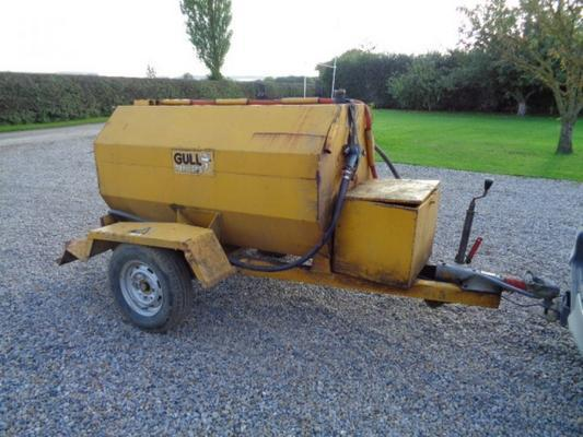 Other Used 1000 Litre Fuel Bowser C/w Honda Engine