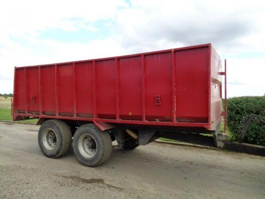 Other Used Merick Login 14 Tonne Trailer
