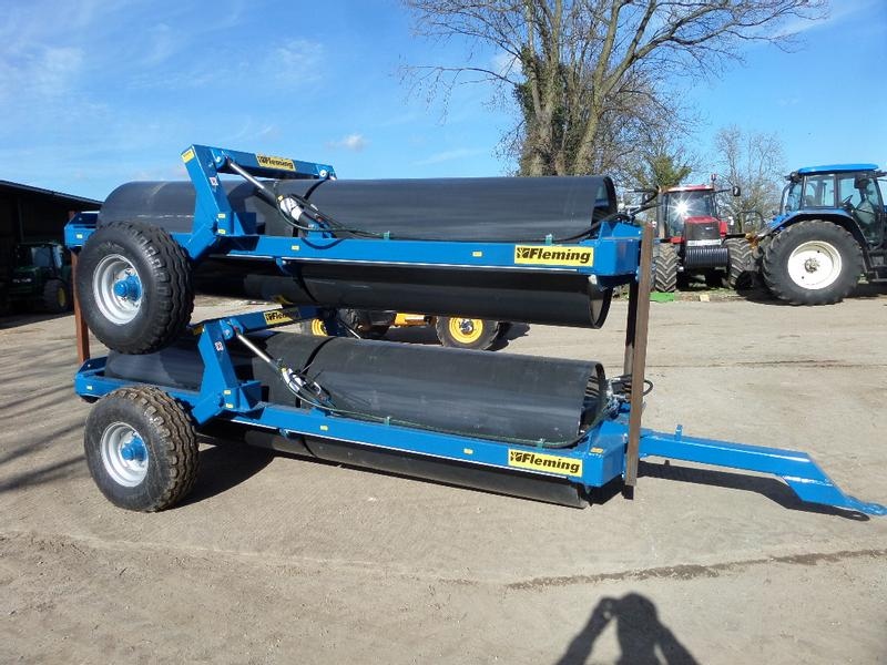 Fleming NEW FLEMING 12FT END TOW ROLLERS