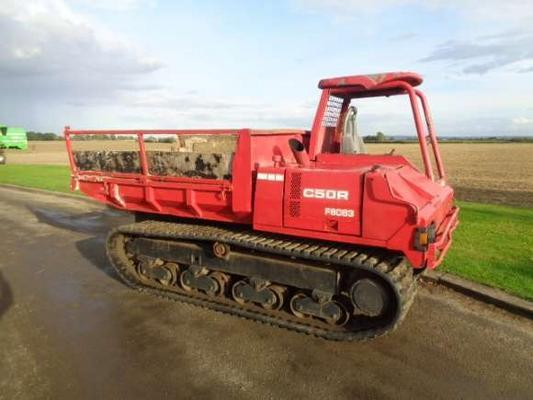 Other Used Yanmar CR50 Tracked Dumper