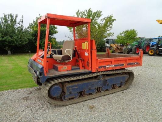 Other Used Yanmar C50R Tracked Dumper