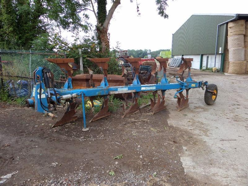 Overum XCELSIOR CX590F 5 FURROW REVERSIBLE PLOUGH