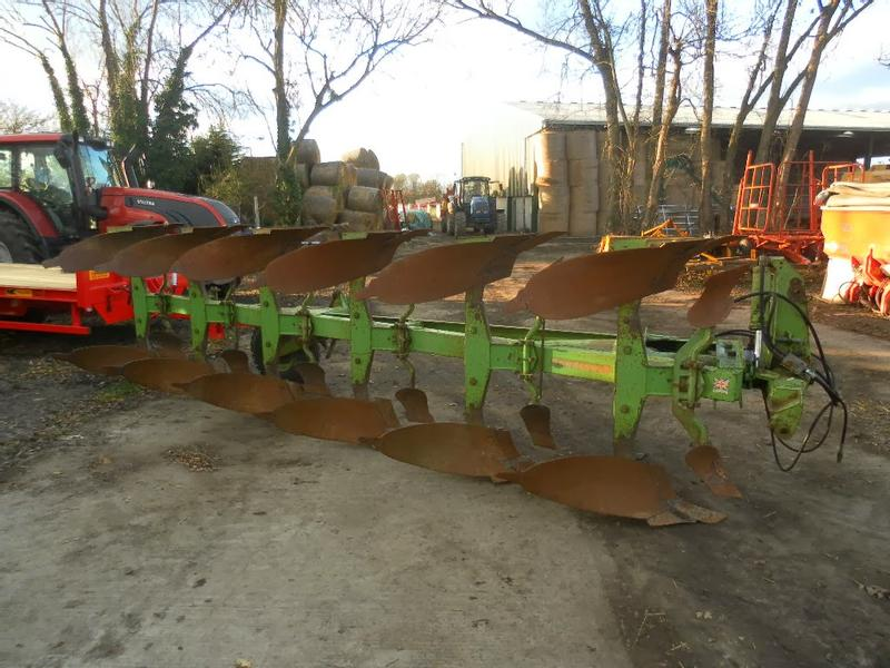 Dowdeswell DP7E1 6 FURROW REVERSIBLE PLOUGH