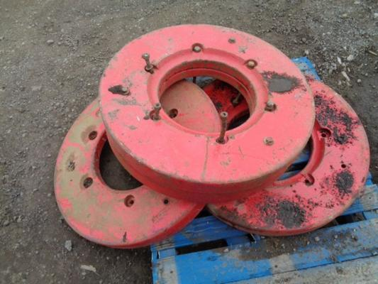 McCormick Used McCormick 250KG Wheel Weights X 4