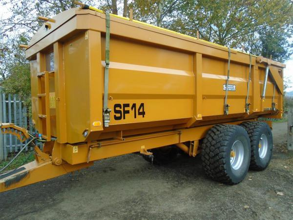 Richard Western 14T grain Trailer For Sale