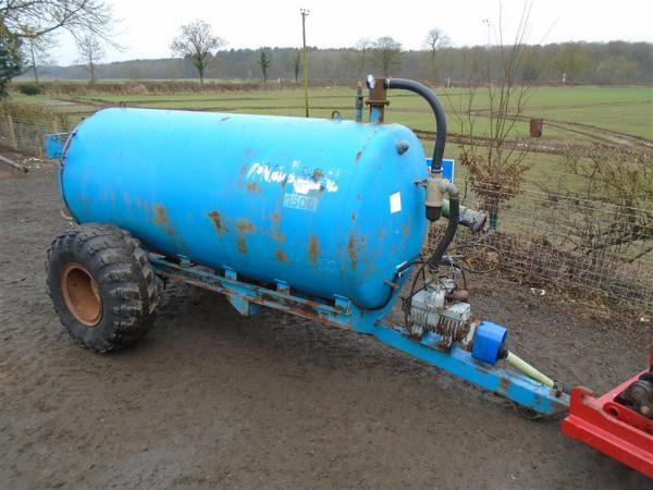 Malgar 1500 Slurry Tanker For Sale