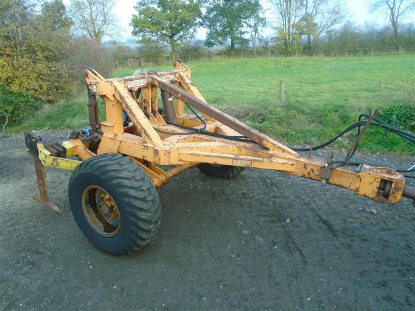 Simba ToolCarrier with Mole Plough For Sale
