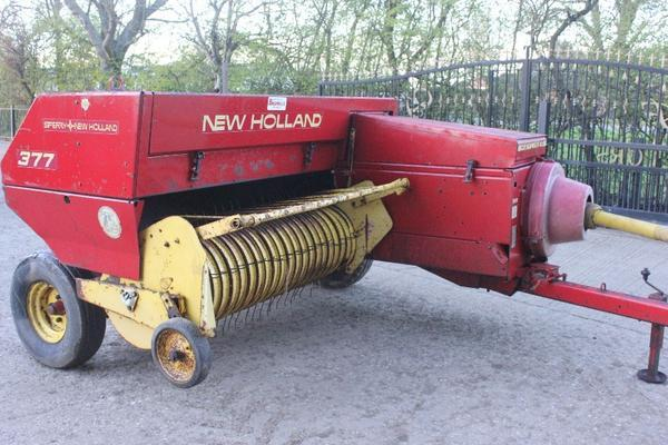 New Holland  377 HAYLINER