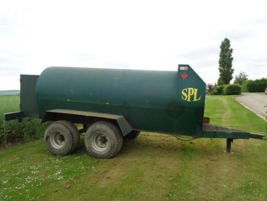 Used Agri-Tek 4000 Litre Bunded Fuel Bowser