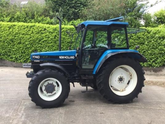 New Holland 7740 SL Dual Power